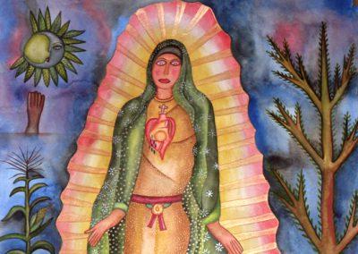 Virgen de Guadalupe 19.5 in x 27.5 in