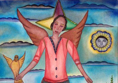 Angelita (Little Angel) 13.75 in x 19.75 in