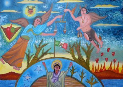 El Derecho del Juez (The Right of the Judge) 27.5 in x 20.5 in