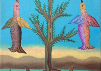 Arbol de La Paz (Tree of Peace) 10.5 in x 14.75 in