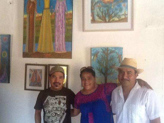 Felipe Morales, Ana Isabel Martinez Garcia y Pedro Cruz Pacheco