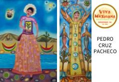 Oaxaca in the Wine Country – original art by Pedro Cruz Pacheco at Viva Mexicana in Sebastopol, CA